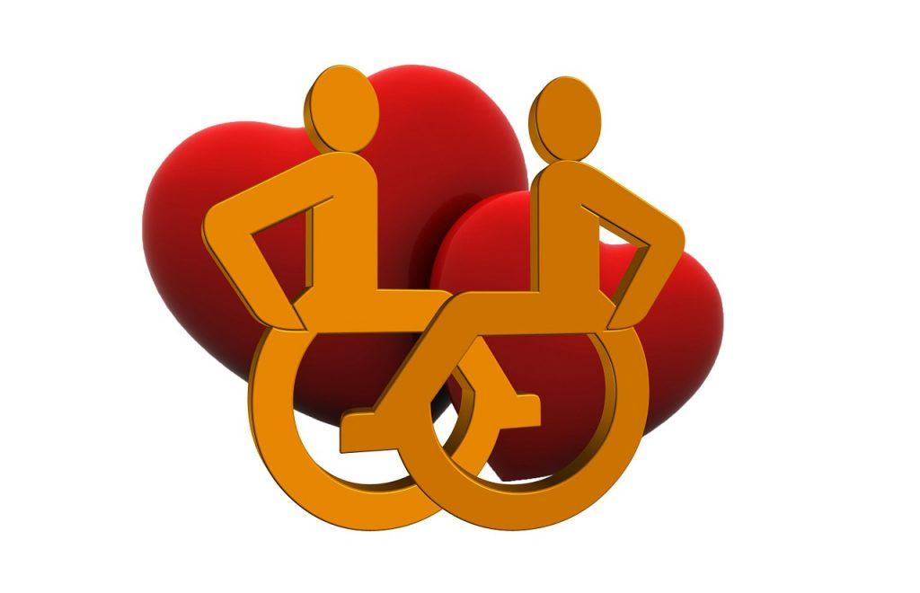 love, disabled, handicap